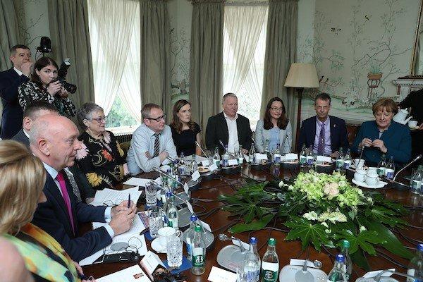 Co-operation Ireland CEO moderates Dublin meeting between Chancellor Angela Merkel and Leo Varadkar