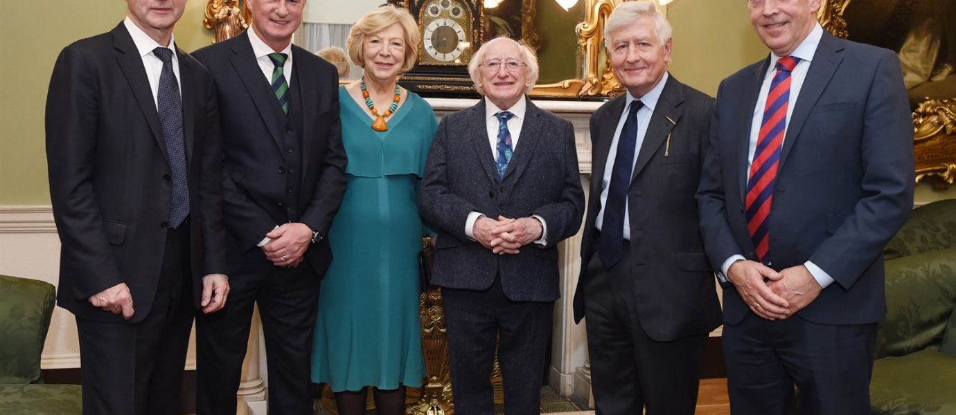 President of Ireland Michael D Higgins: Co-operation Ireland's work 'more important than ever' in the wake of Brexit vote