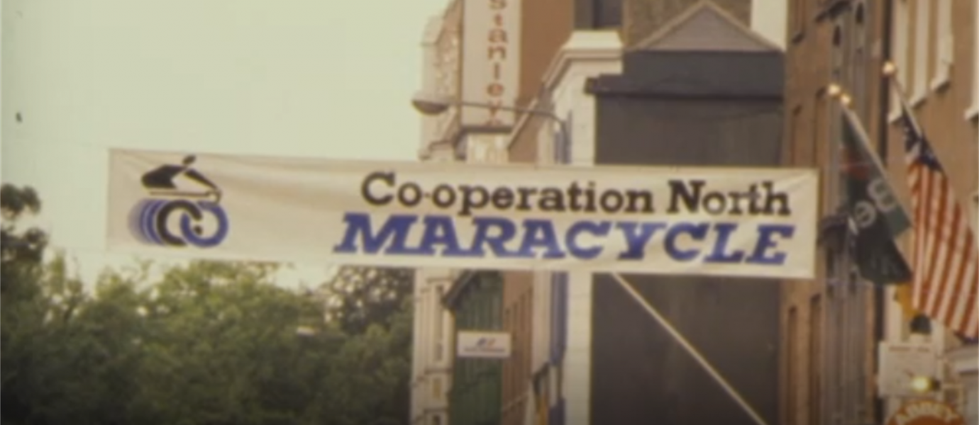 Maracycle: Watch original RTE footage of Co-operation Ireland's most famous event