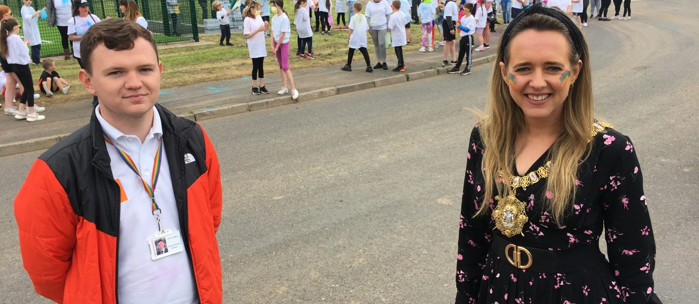 Kate Nicholl: Belfast Lord Mayor launches first ever Youth Network for Peace PRIDE event